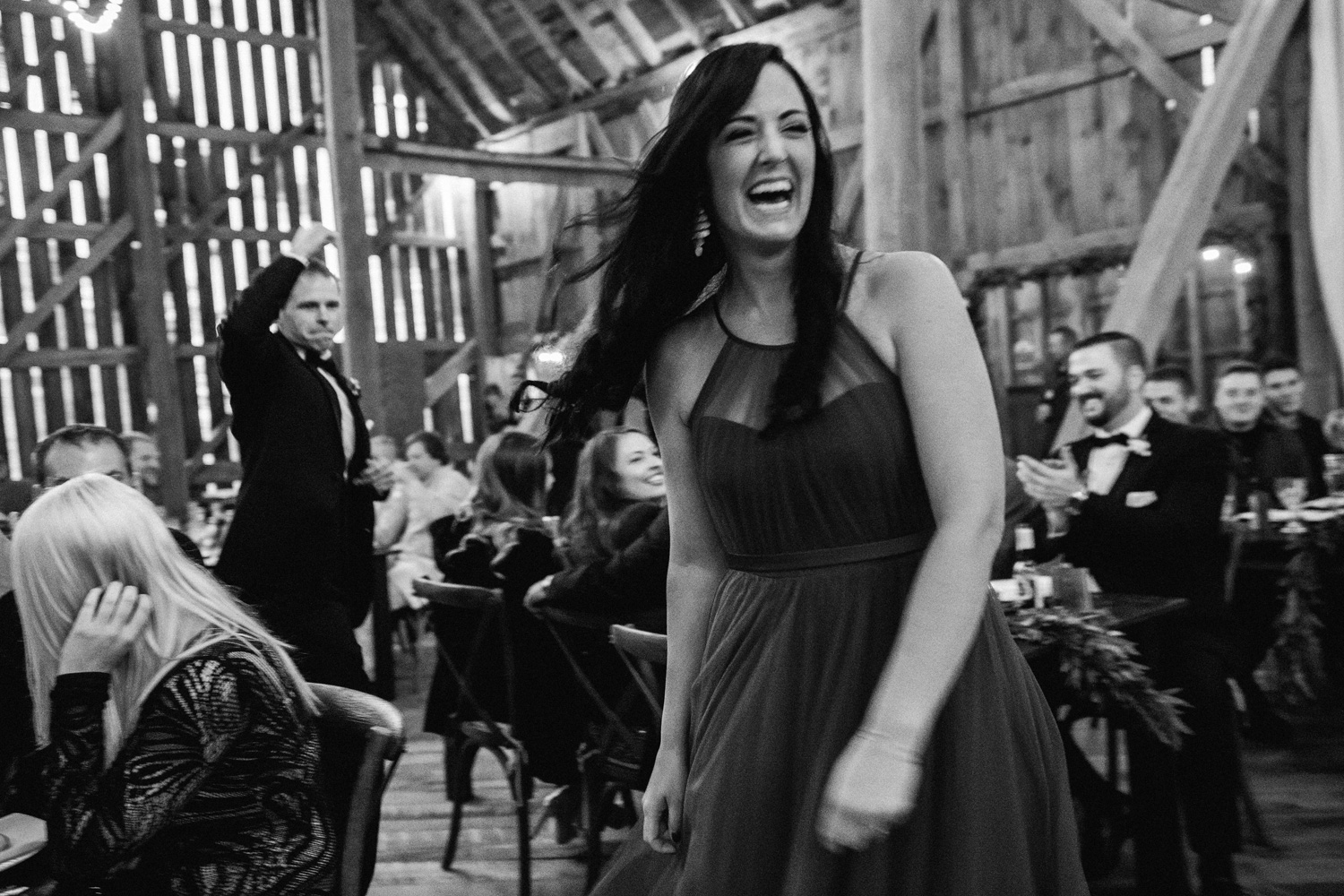 Fall Wedding at Birch Hill Barn capture by Geneoh Photography