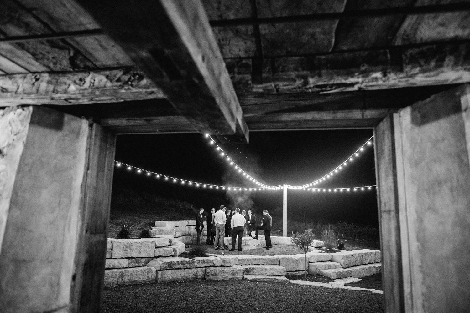 BonFire at Birch Hill Barn Wedding