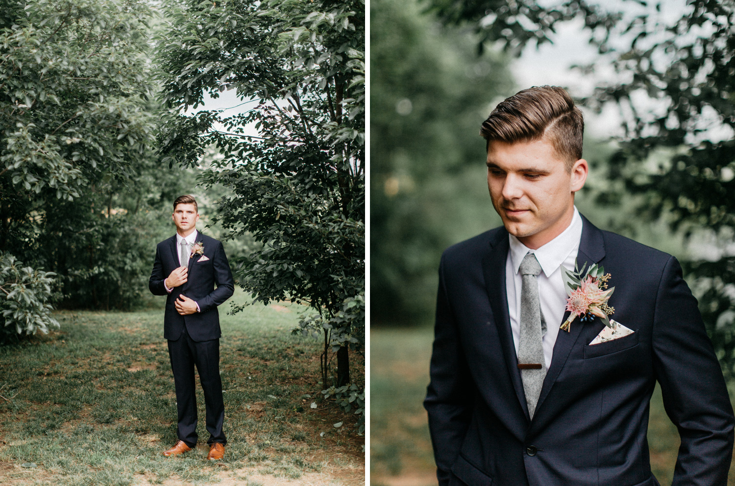 Groom Portrait at Southwind Hills by geneoh photography