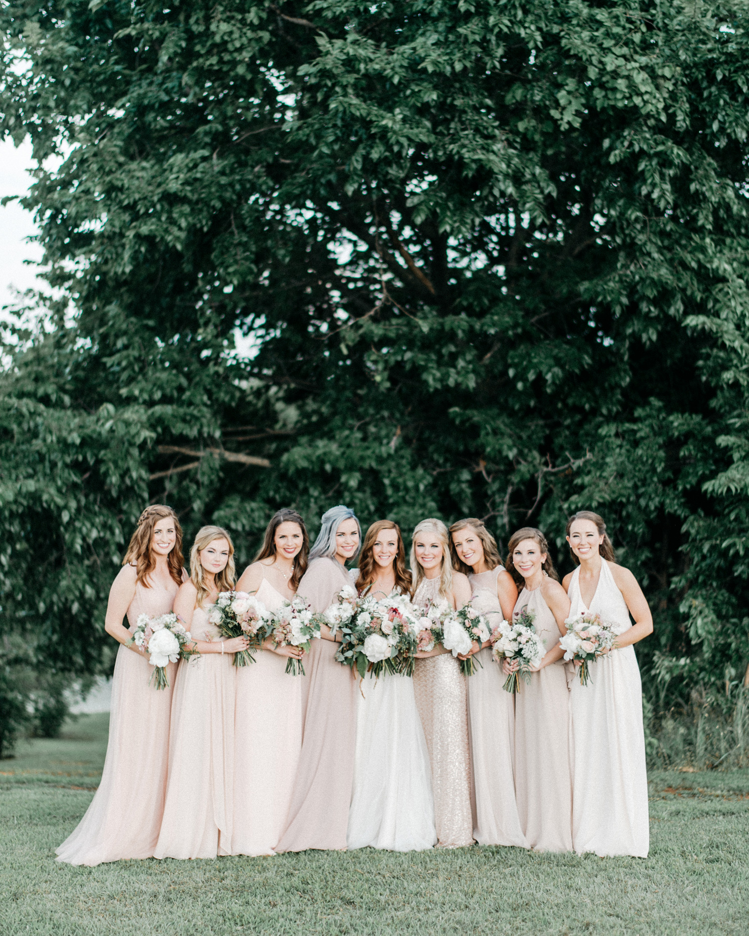 Bride and Bridesmaid Portrait at Southwind Hills by geneoh photo