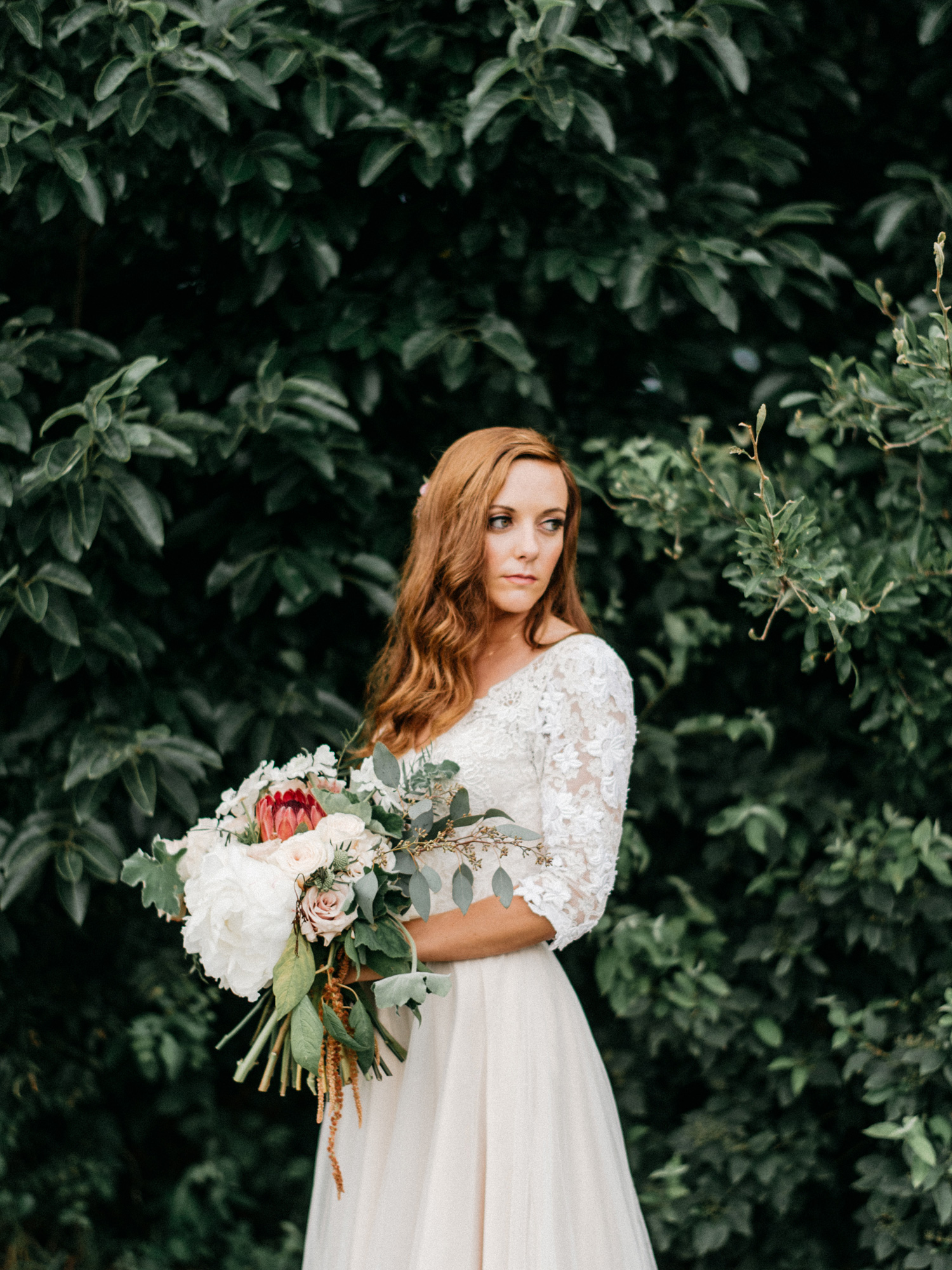 Bride Portrait at Southwind Hills by geneoh photography