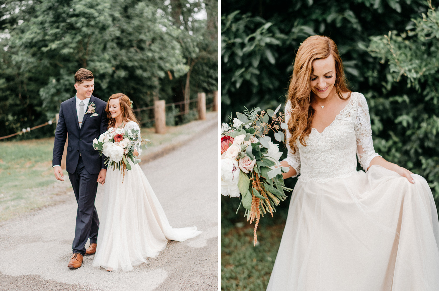 Bride and Groom Portraits at Southwind Hills by geneoh photograp