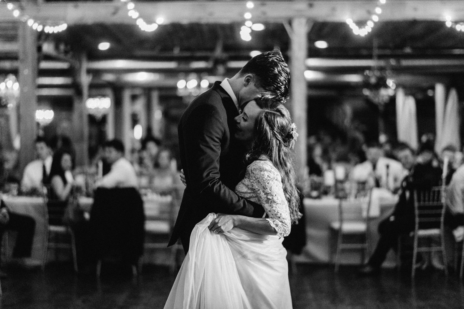 Bride and Groom first dance at Southwind Hills