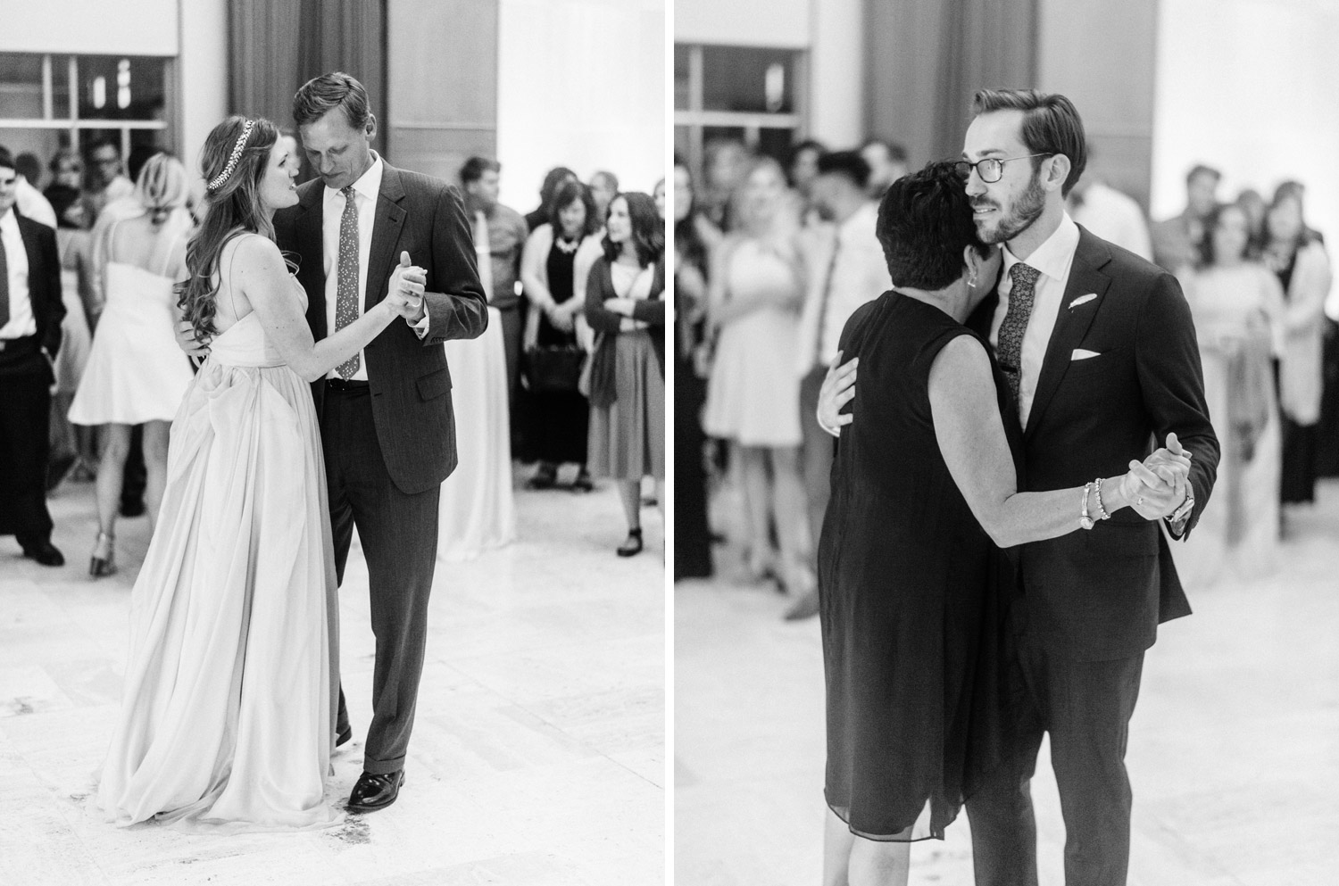 Wedding Reception at Des Moines Art Center images by geneoh photography