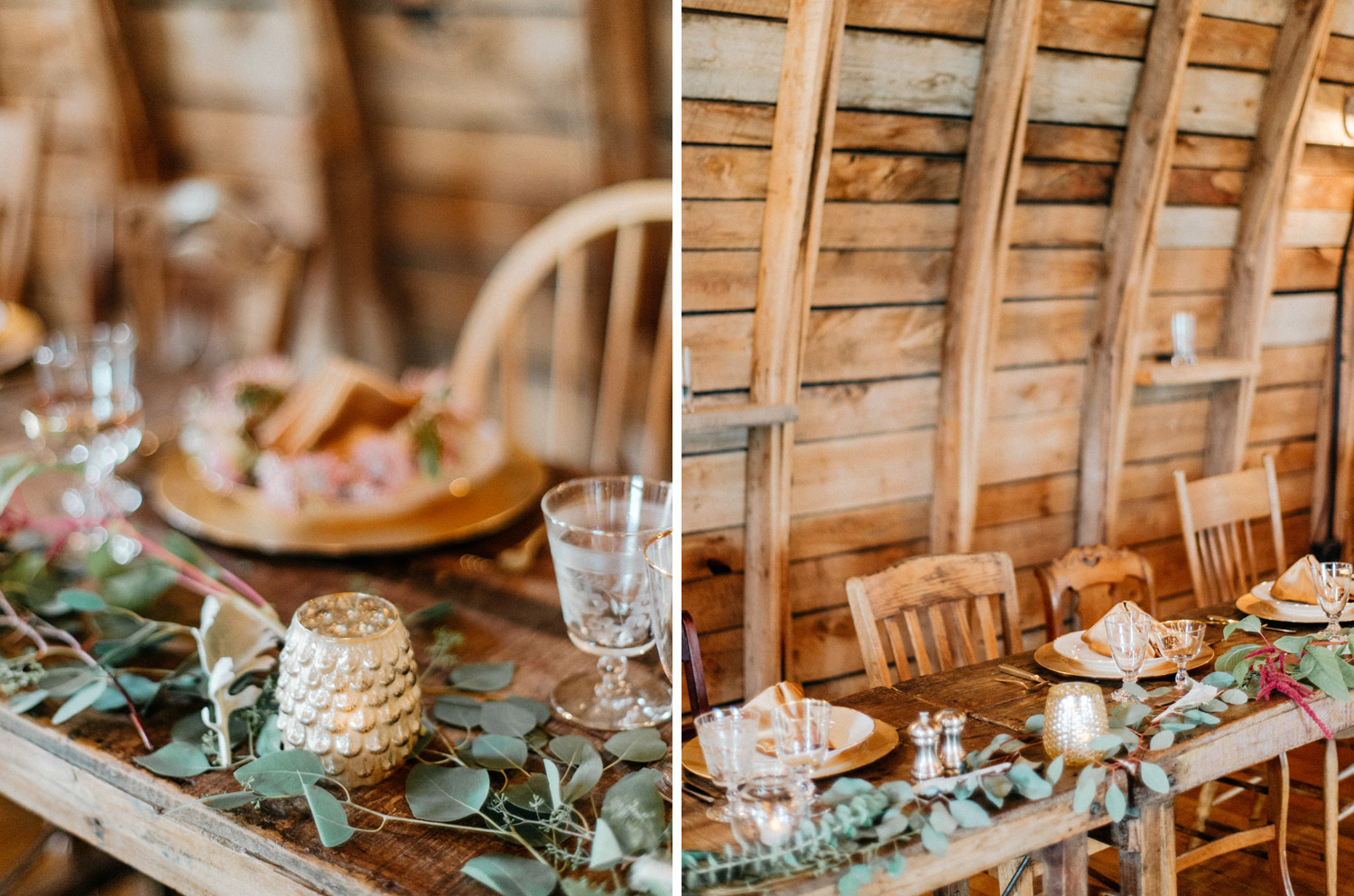 wedding details at rustic oaks by geneoh photography