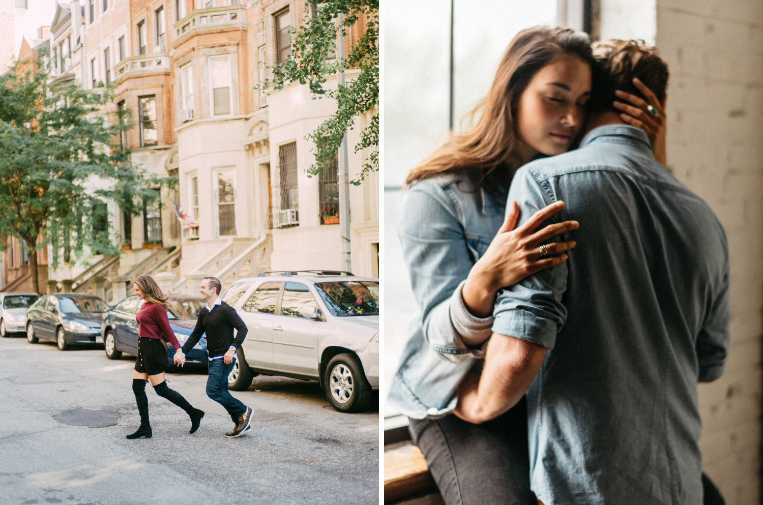 New York Street Engagement Photography by geneoh photography