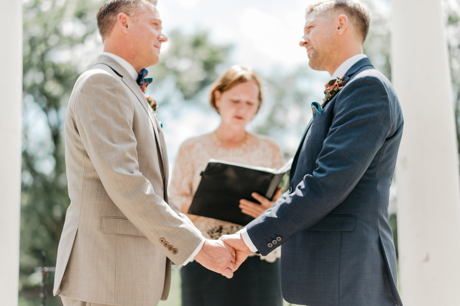 Same Sex wedding by geneoh photography