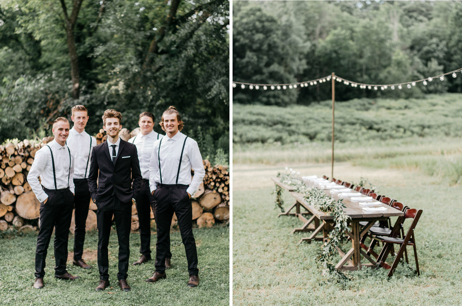 Backyard Wedding by geneoh photography