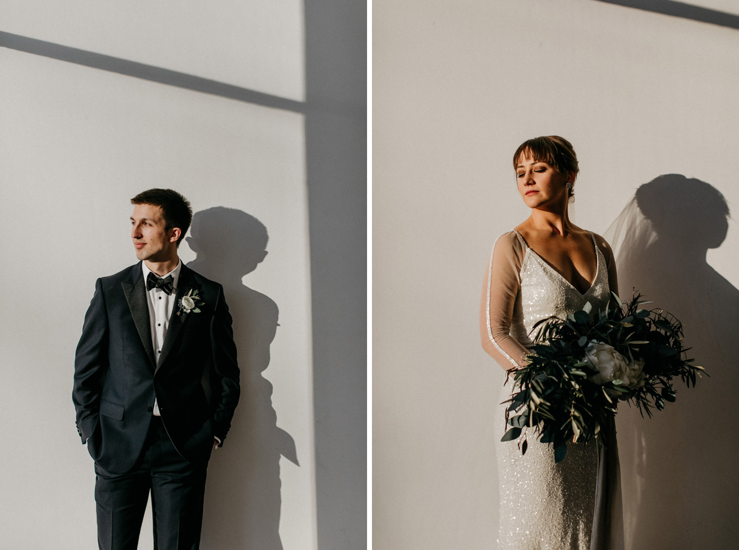 Walker Art Center Bride and Groom Portraits by geneoh photography