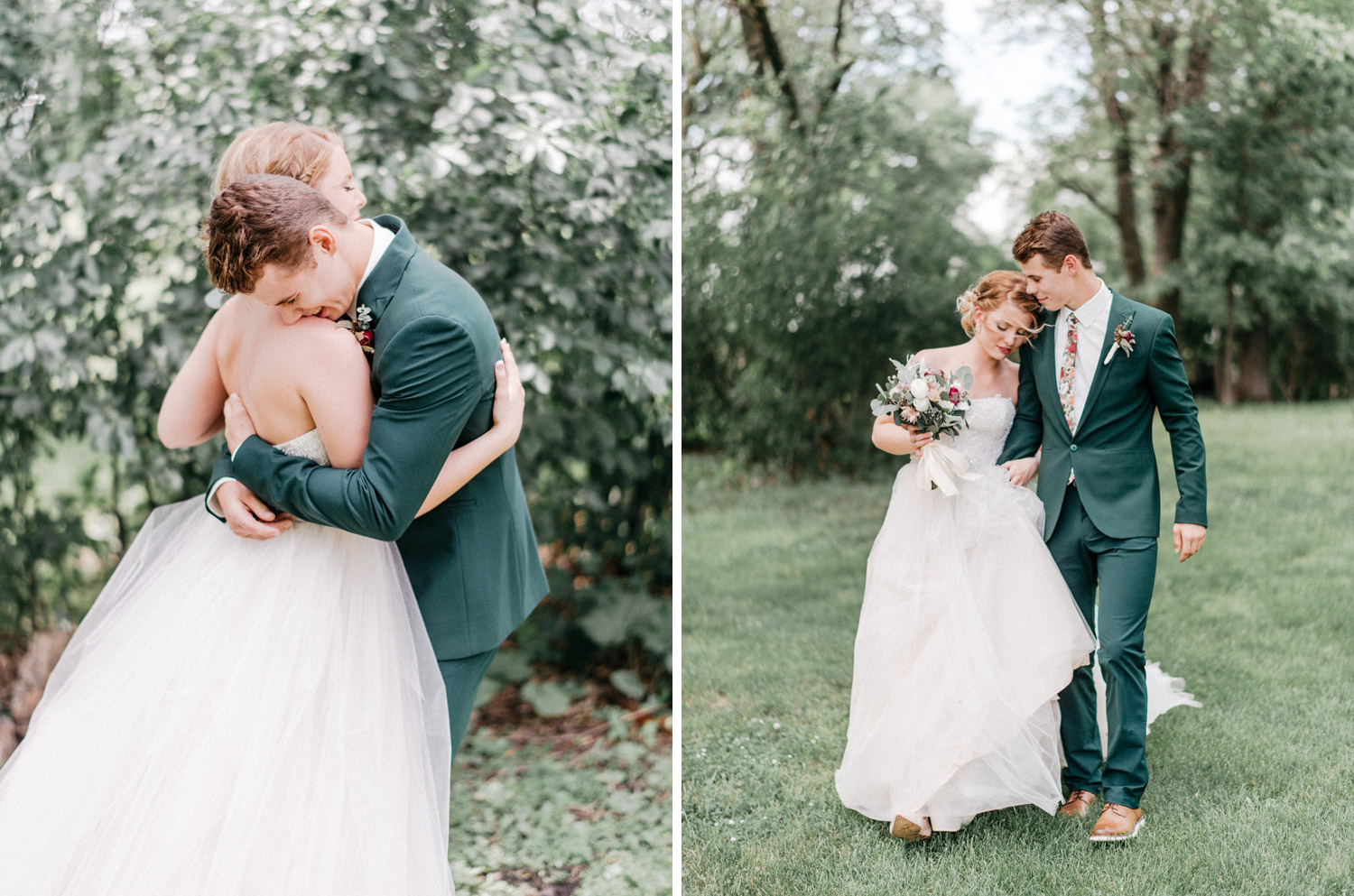Emotional Wedding First look by geneoh photography