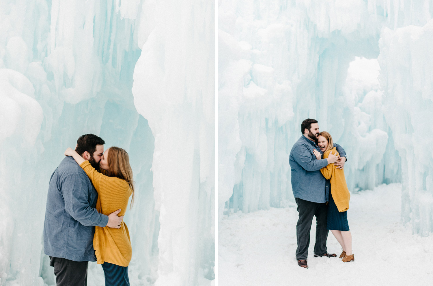 Winter Engagement session by geneoh photography