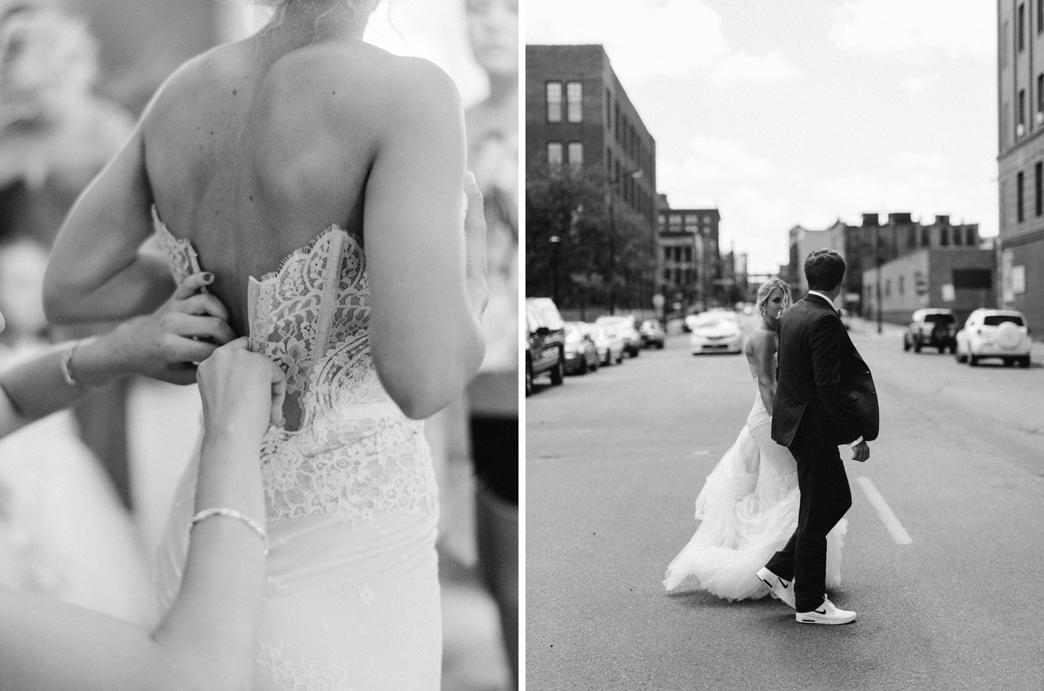Downtown Minneapolis Wedding Photography by geneoh photography