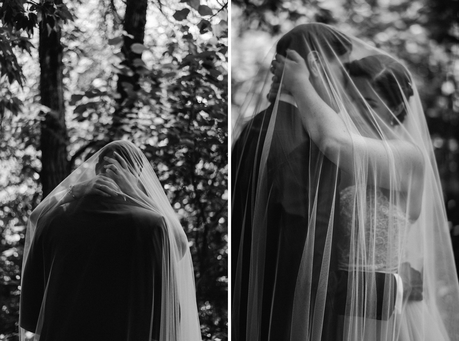 moody bride and groom portraits by geneoh photography