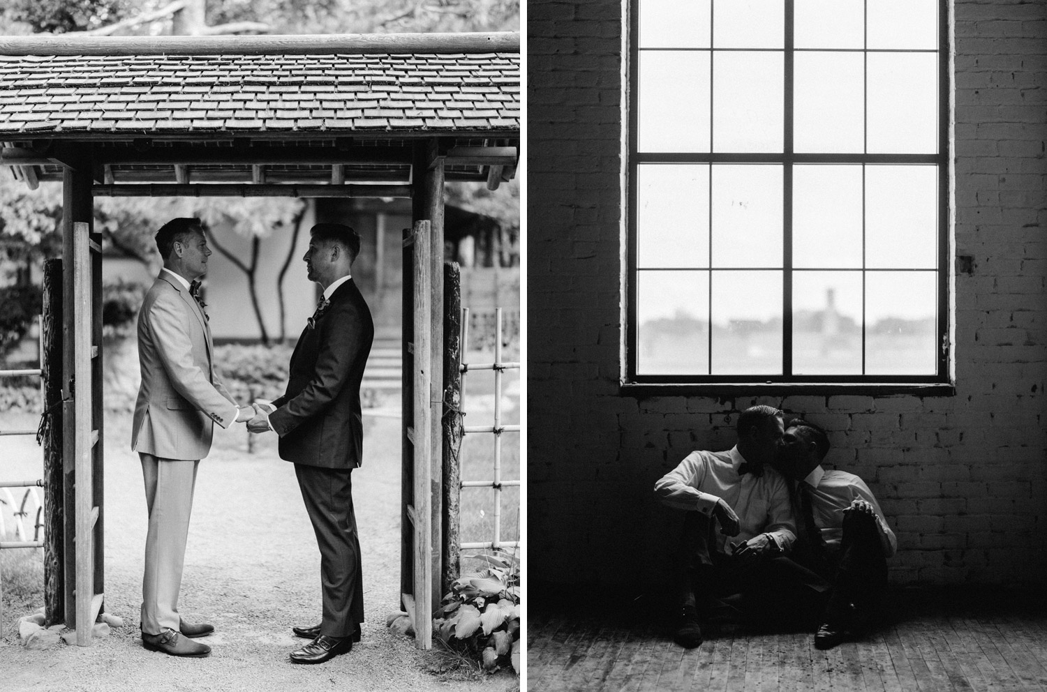 Same Sex Wedding Portraits by geneoh photography