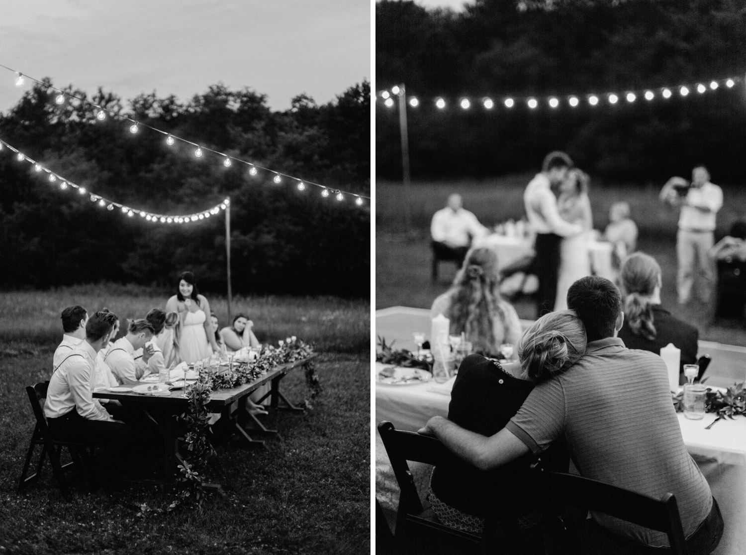 Backyard Wedding Reception Photography by geneoh photography