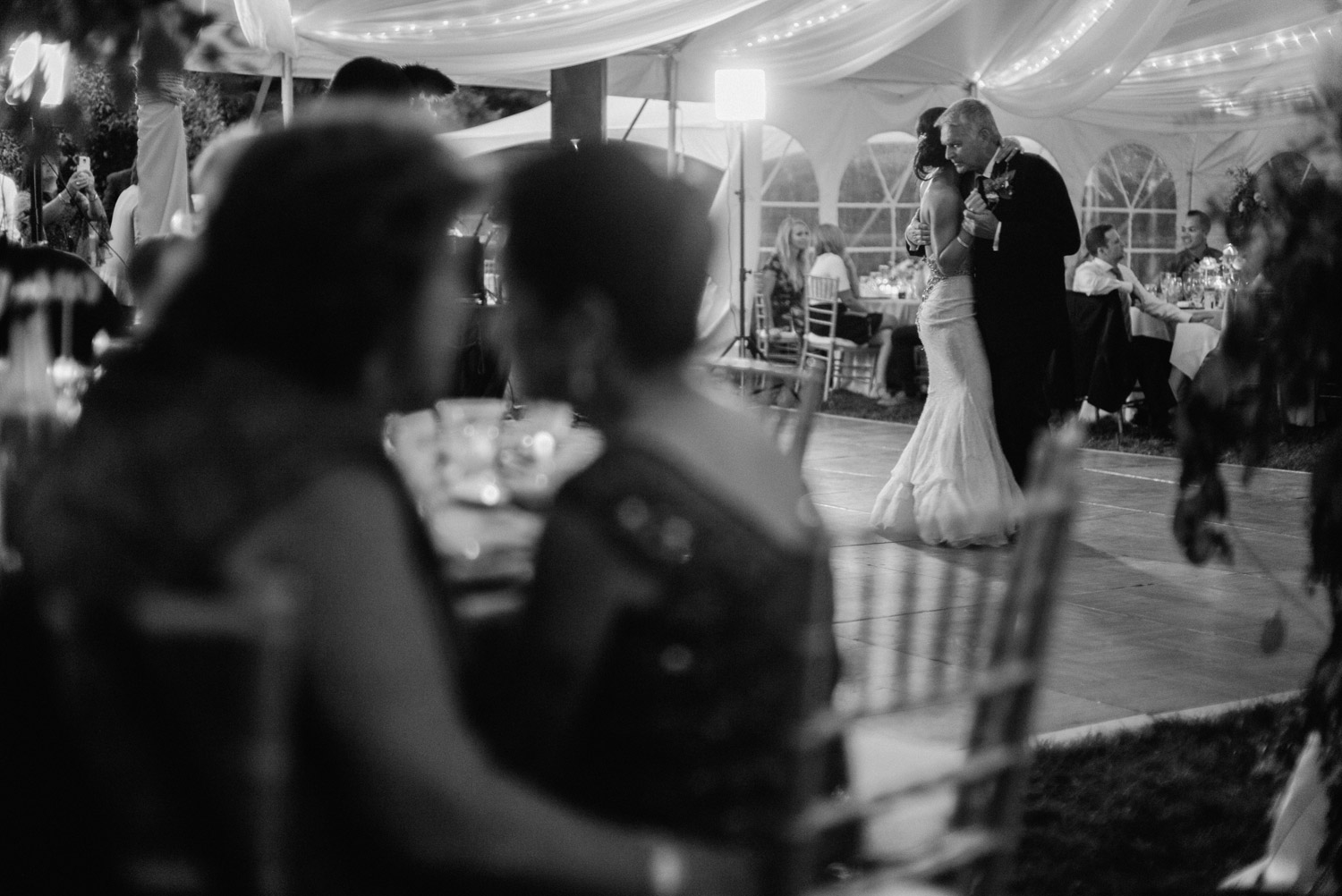 Bride and Father first dance by geneoh photography