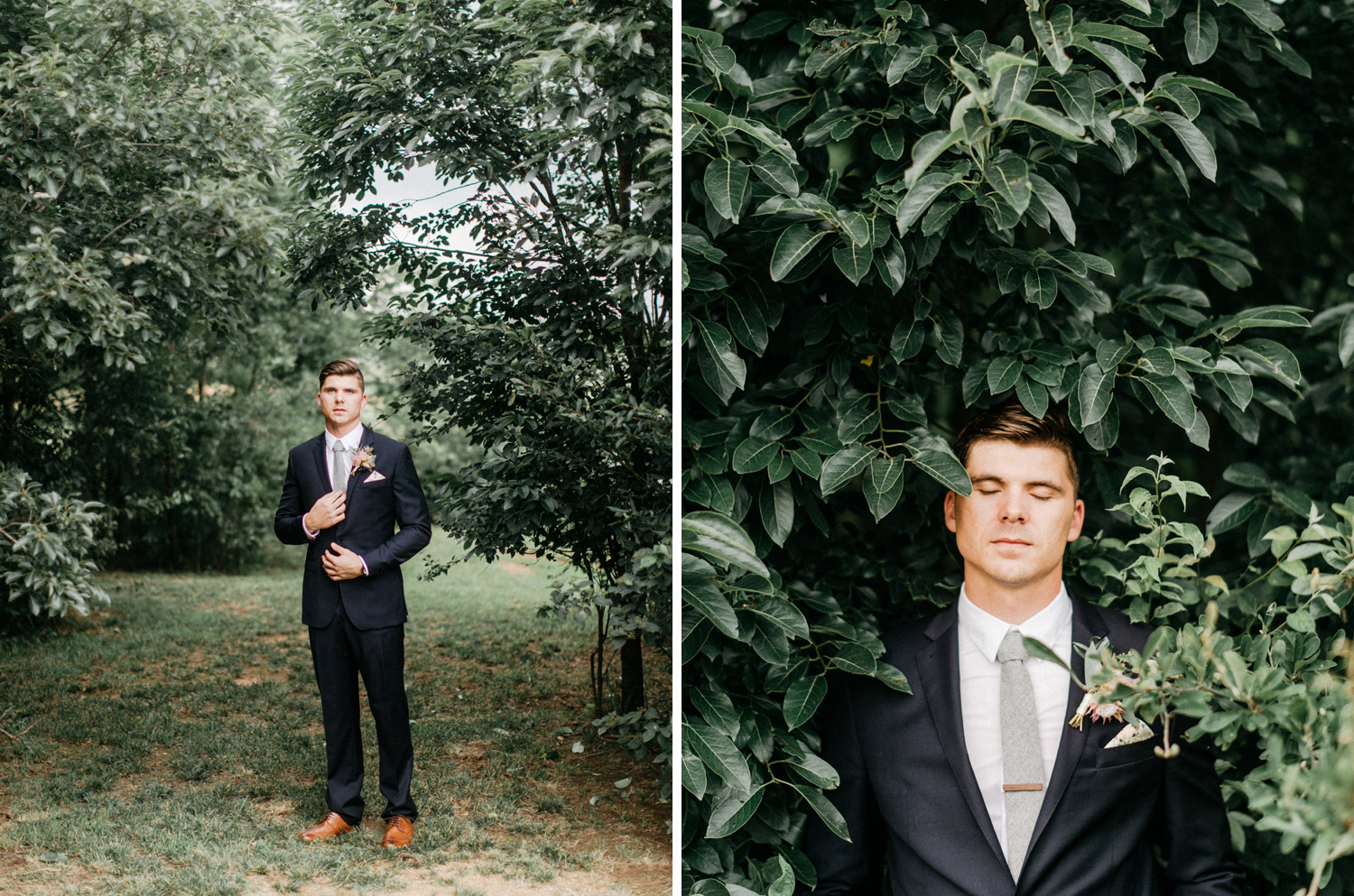 Creative Groom Portraits by geneoh photography