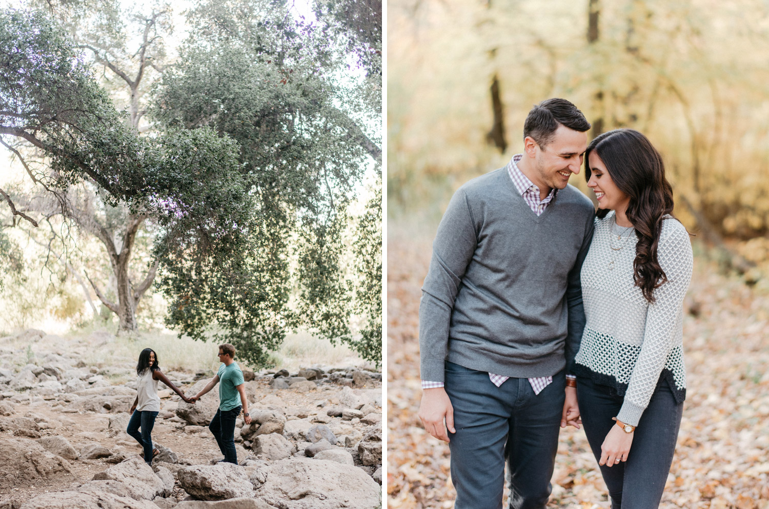 Natural Engagement Photography by geneoh photography